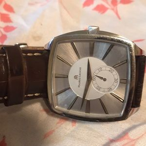 Maurice Lacroix water-resistant sapphire crystal